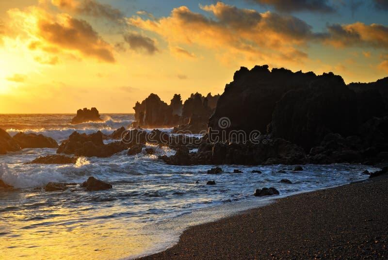 Download Atlantic sunset stock image. Image of reef, coastline - 21757933