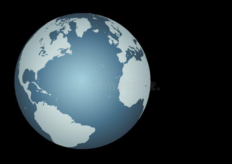 Atlantic - Transatlantic royalty free illustration