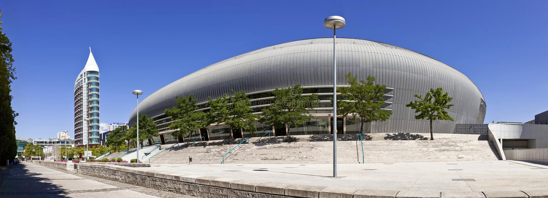 Download Atlantico Pavilion / Pavilhao Atlantico - Lisbon Editorial Photo - Image of portugal, parque: 38656851