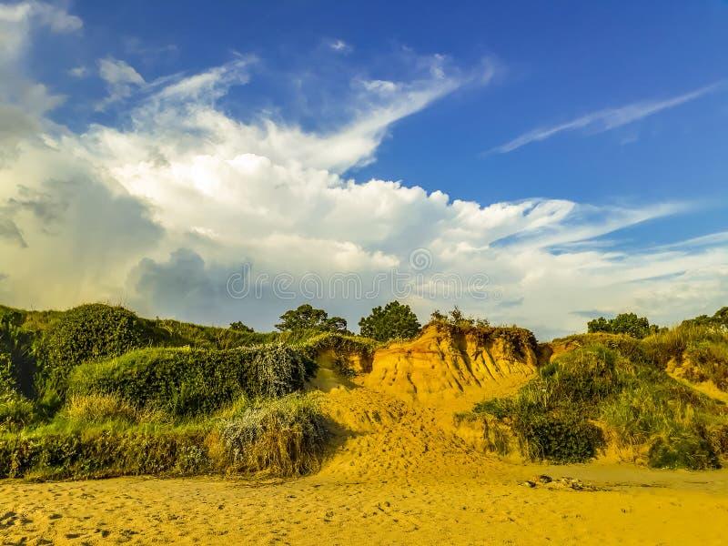 Atlantida-Strand, Canelones, Uruguay stockbild