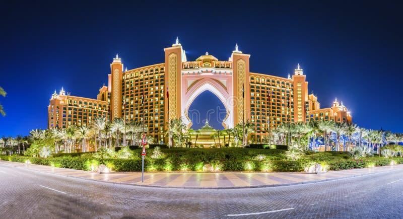 Atlantide Dubai immagine stock