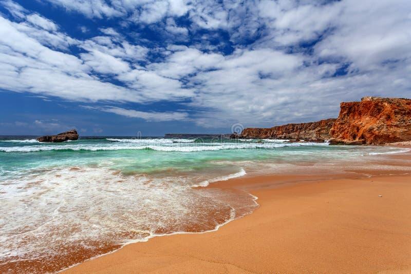 Atlantik - Sagres Algarve Portugal stockfotografie
