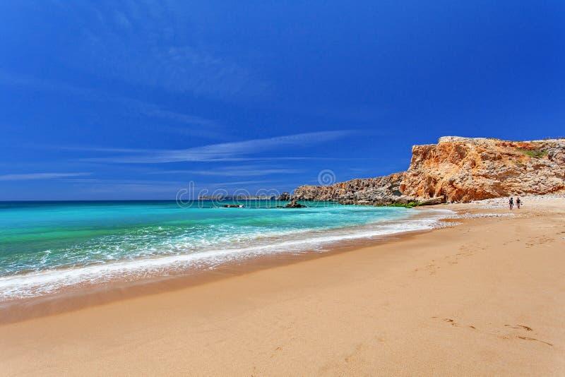 Atlantik - Sagres Algarve, Portugal lizenzfreies stockfoto