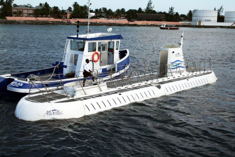 atlantis łódź podwodna zdjęcia stock
