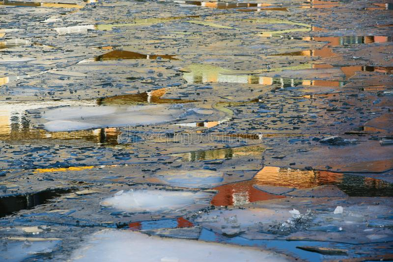 Atlantis κάτω από τον πάγο στοκ εικόνες