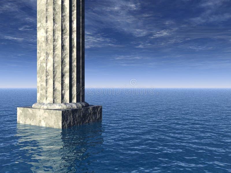 Atlantis stock illustratie