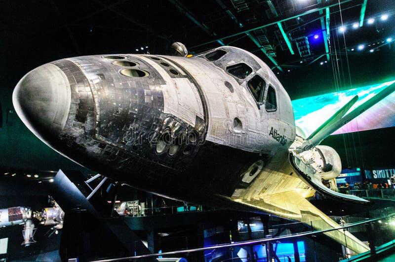 Atlantis auf Anzeige bei Kennedy lizenzfreie stockbilder