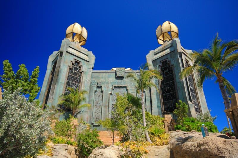 Download Atlantis in Bahamas stock photo. Image of dubai, blue - 19989230