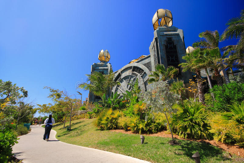 Download Atlantis in Bahamas stock photo. Image of caribbean, beach - 20123266