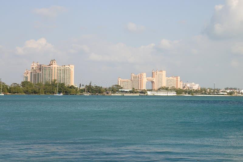 Atlantis, Bahamas. Atlantis resort on paradise Island, Bahamas royalty free stock images