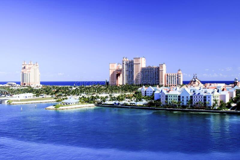 Atlantis Bahamas stockbild