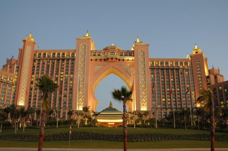 atlantis Dubai hotel zdjęcie royalty free