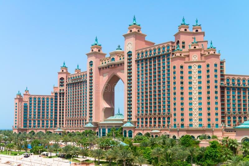 Atlantis, gömma i handflatan, en jättelik och härlig compl för semesterorthotell arkivfoto