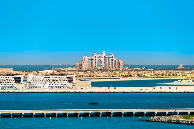Atlantis gömma i handflatanhotellet i Dubai, UAE arkivfoton