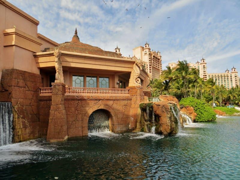 Atlantis hotel zdjęcie stock