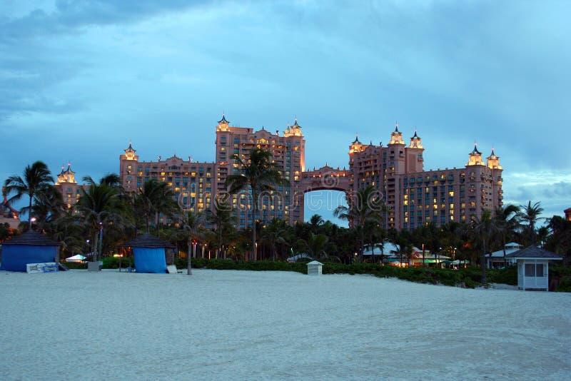 Atlantis Hotel Bahamas Stock Photography