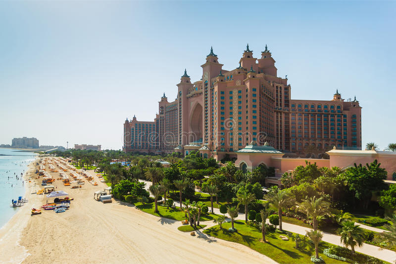atlantis hotel Dubai uae zdjęcia stock
