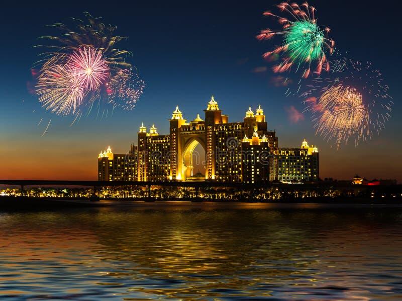 atlantis hotel Dubai UAE zdjęcie stock