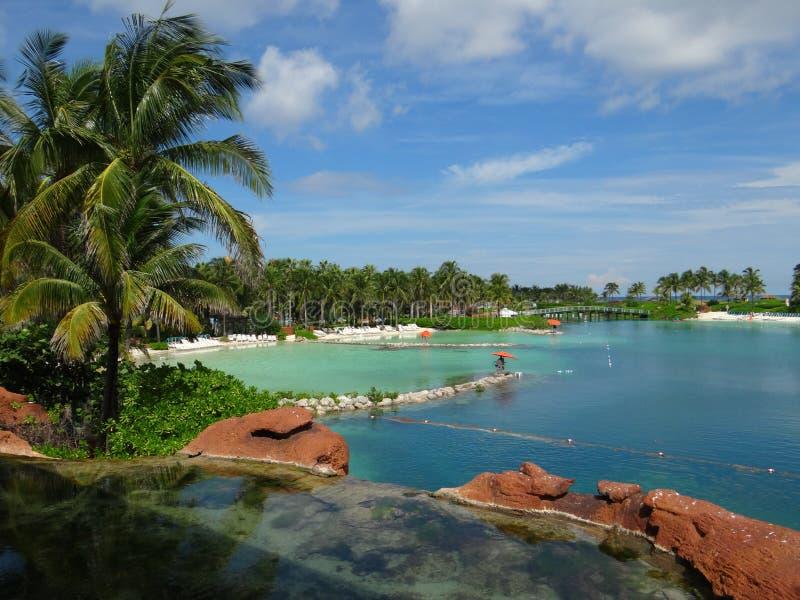 Atlantis Hotel Paradise Island Resort stock photo