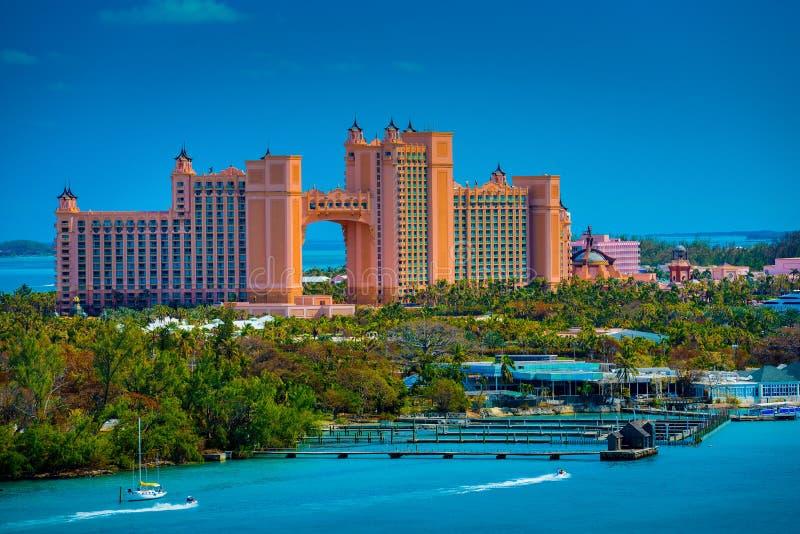 Atlantis hotel w kurorcie zdjęcia royalty free