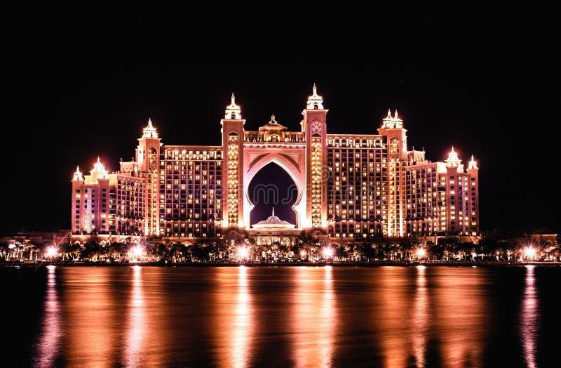 Atlantis hotelowy palmowy Dubai obraz stock