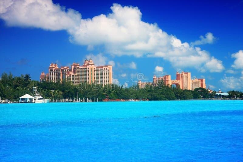 Atlantis kasinobyggnad arkivfoto