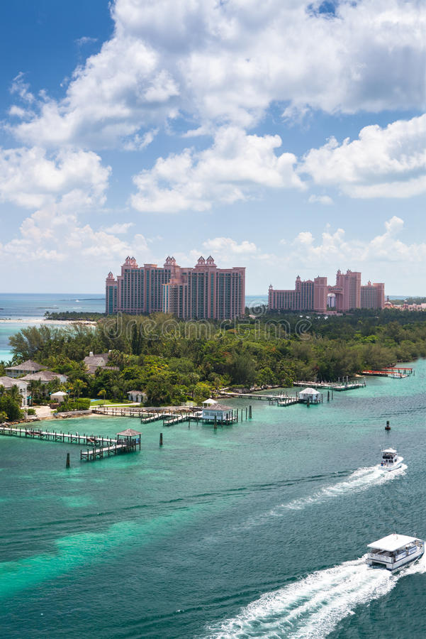 Atlantis kurort w Nassau, Bahamas zdjęcie stock