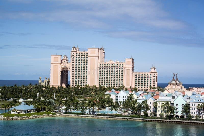 Atlantis in Nassau royalty-vrije stock foto