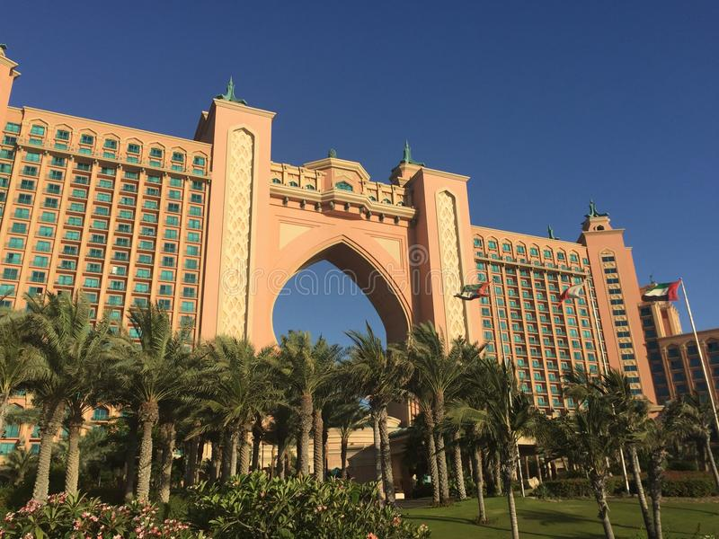 Atlantis the palm stock photos