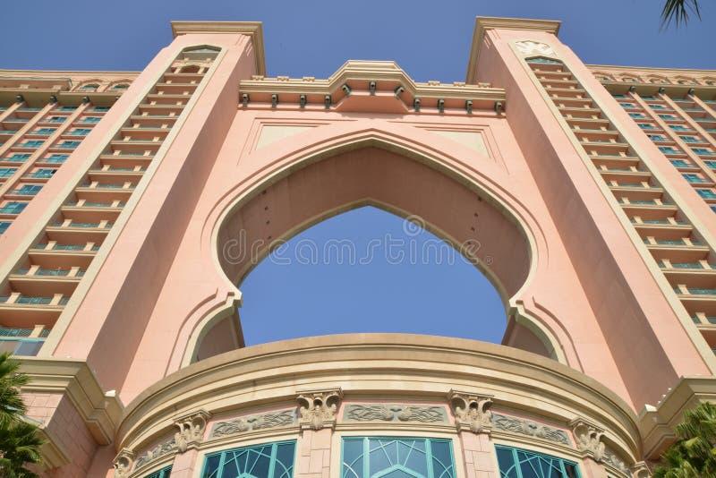 Atlantis, a palma na palma Jumeirah, Dubai fotos de stock