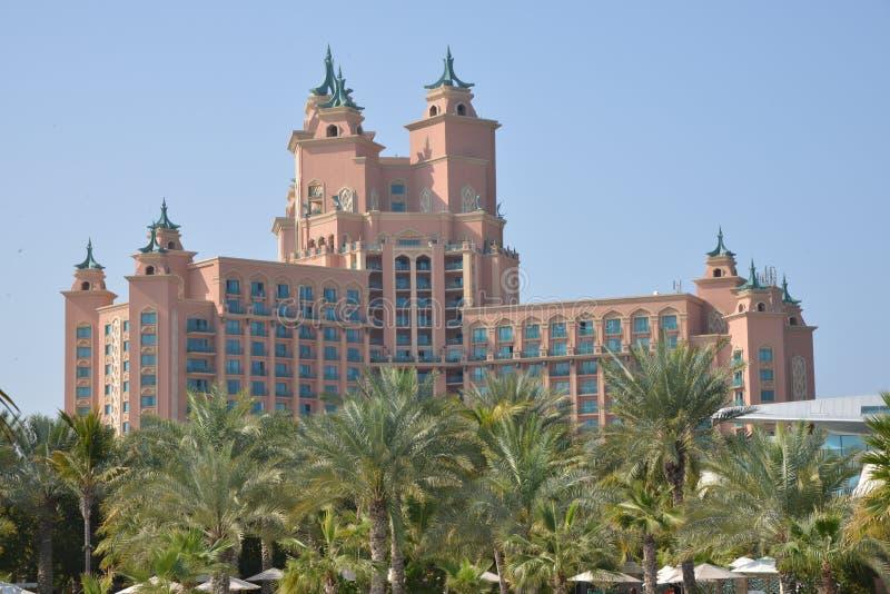Atlantis palma przy Palmowym Jumeirah, Dubaj obrazy royalty free