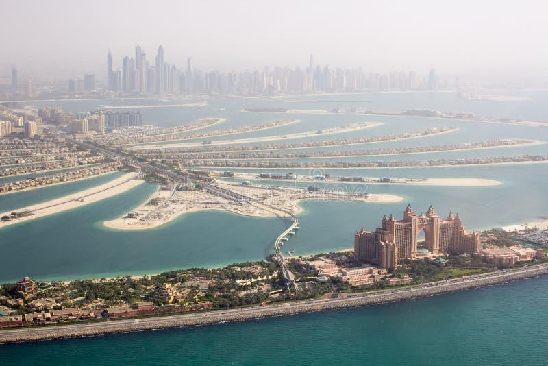 Atlantis Palmowy hotelowy widok fotografia stock