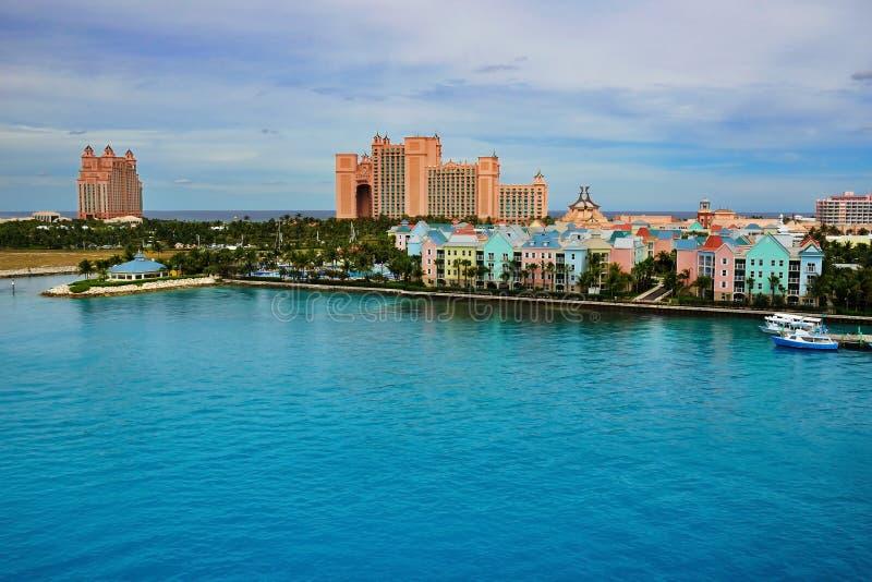 Atlantis, Paradies-Insel stockbilder
