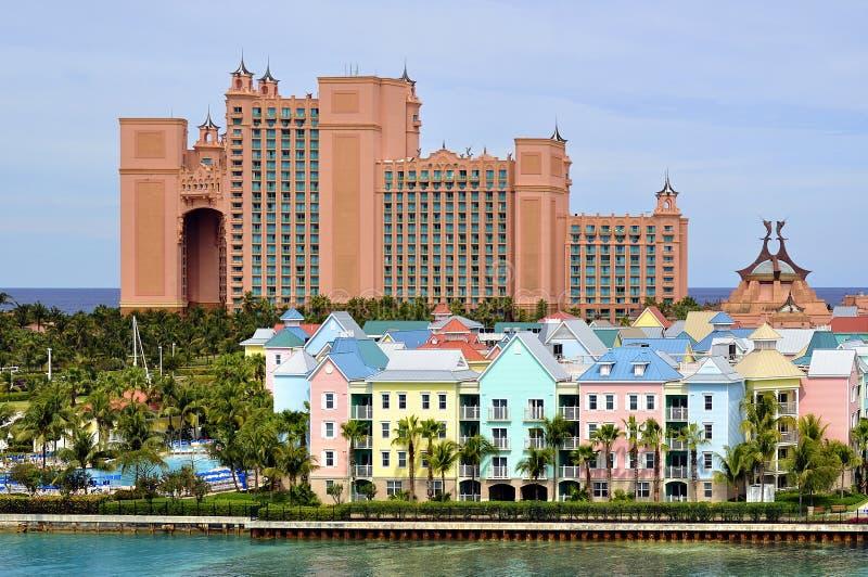 Atlantis, Paradies-Insel, Bahamas lizenzfreie stockbilder