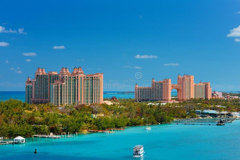 Atlantis semesterort och kasino arkivbild