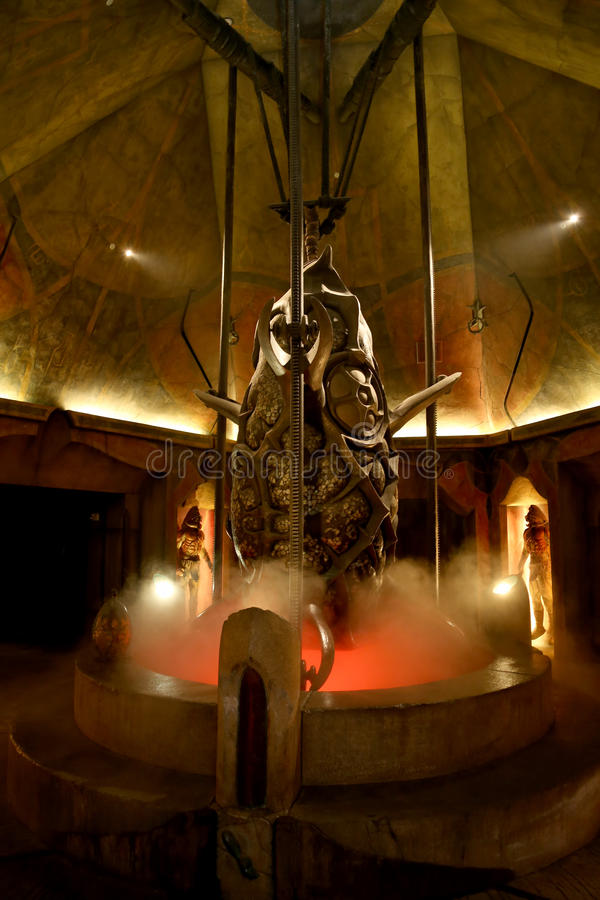 Atlantis w Dubaj obrazy royalty free