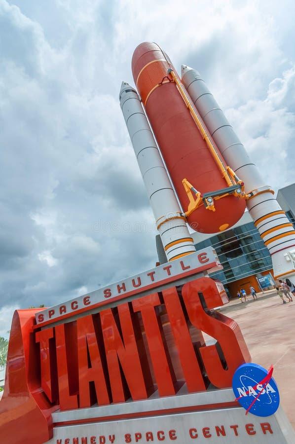Atlantis wahadłowiec fotografia royalty free