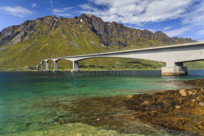Atlantische Weg Noorwegen royalty-vrije stock fotografie