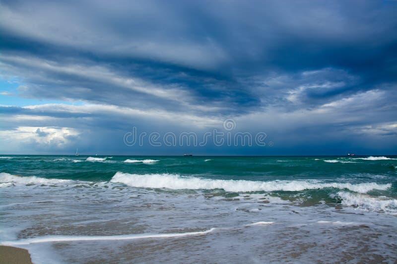 Atlantischer Strand, Florida, USA stockbilder