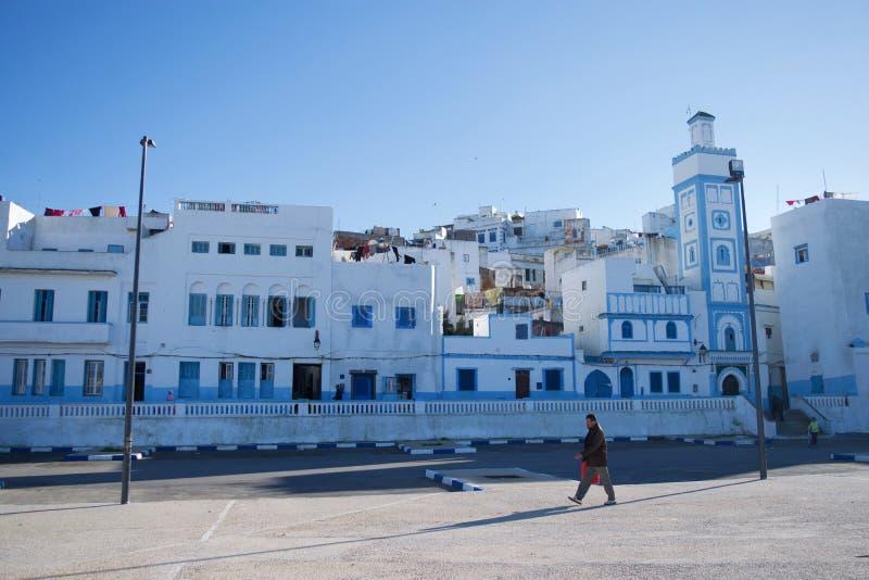 Atlantisk by i Marocko arkivbilder