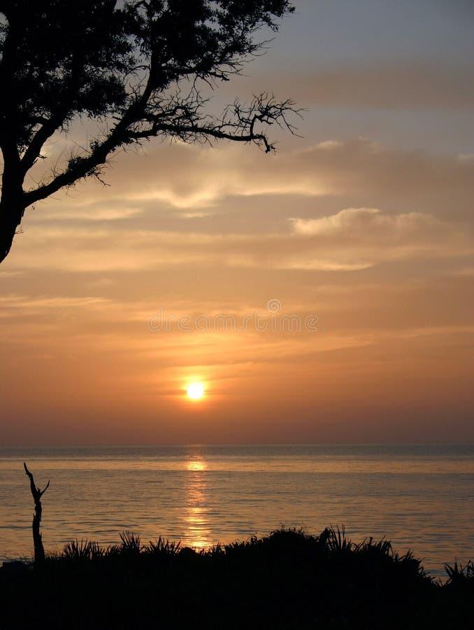 atlantisk over soluppgång fotografering för bildbyråer
