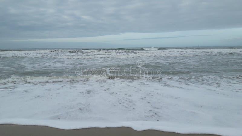 Atlantycki denny wybrzeże fotografia stock