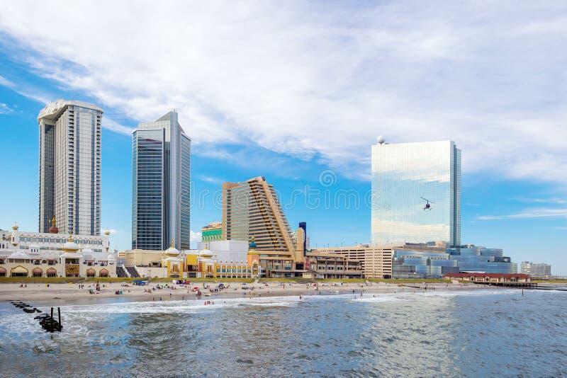Atlantycki miasto, Nowy - bydło zdjęcia stock