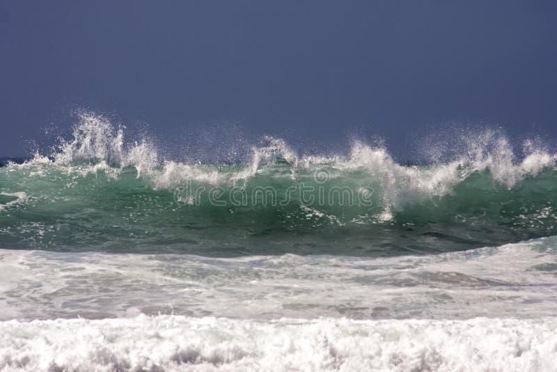 atlantycki ocean Portugal zdjęcie stock