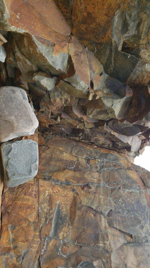 Atlantyckie ocean skały obrazy stock