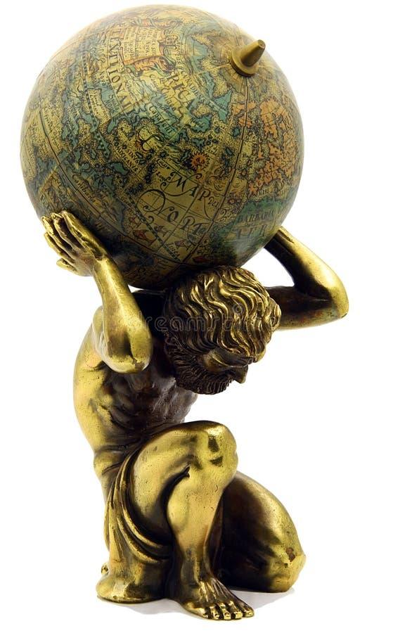 Atlas royalty-vrije stock afbeelding