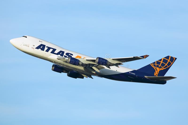 Atlas Air arkivbilder