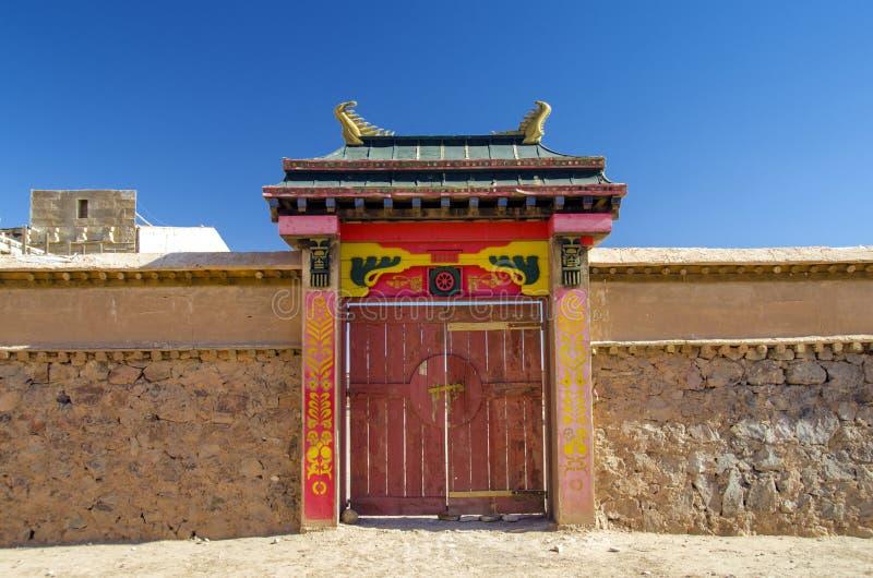 Atlas Film Studios in Ouarzazate royalty free stock image