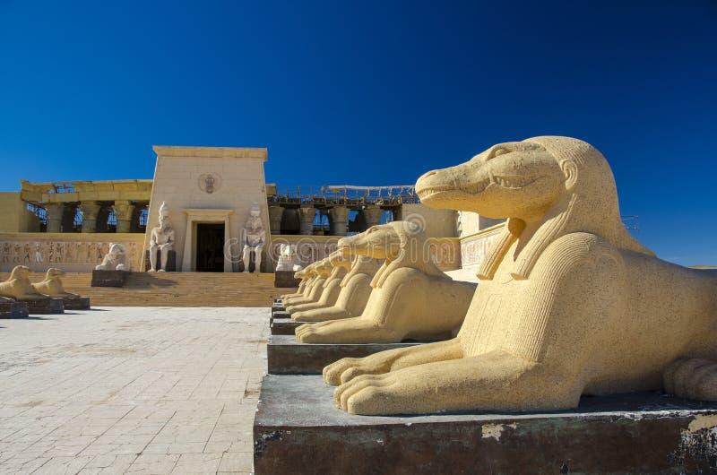 Atlas Film Studios in Ouarzazate royalty free stock photography