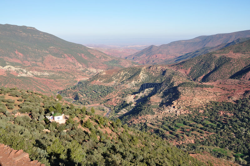 Download Atlas mountains in Morocco stock photo. Image of mountainside - 7499468